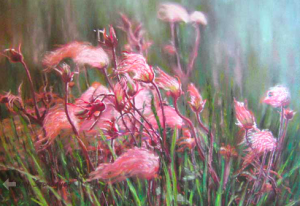 Prairie Smoke by Karen Srombaugh